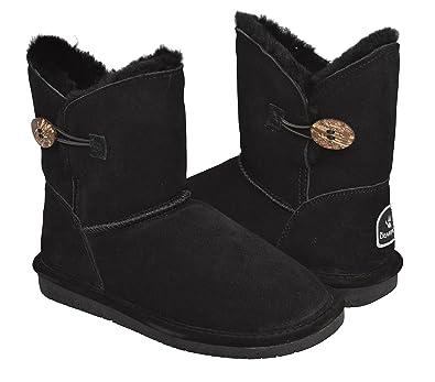 8 Women's Shearling Bearpaw co W Boots Black Rosie uk Amazon 1653 E0wBdxBAOq
