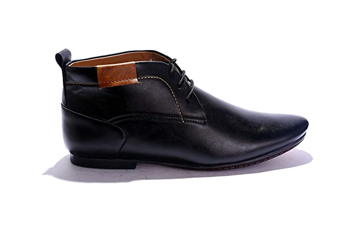 a4f43bba2aa Curewe Kerien Men s Retro Ankle Length Casual Formal Lace up Leather Oxford  Shoes  Buy Online at Low Prices in India - Amazon.in