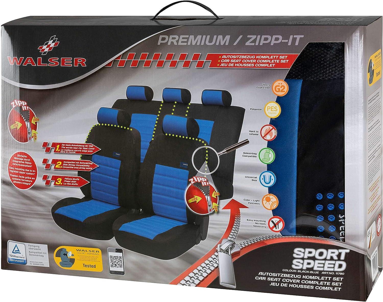 Bleu Walser 11790 Zipp iT Speed Housse de si/ège Sport