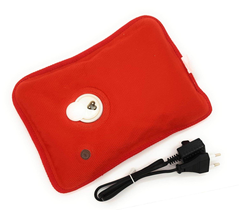 MovilCom® Bolsa de Agua Caliente Eléctrica | Recargable en sólo 15 minutos | Calentamanos | Dolor muscular, espalda, menstrual 600Watt (Mod.22)