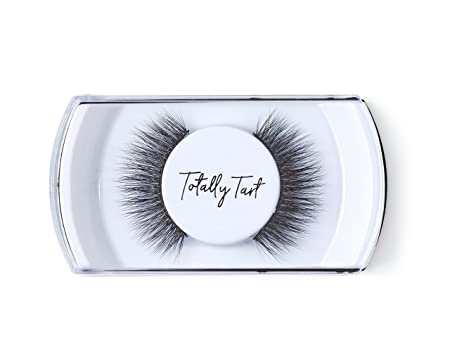 Totally Tart Premium Natural 3D False Eyelashes - Handmade Reusable Cruelty  Free Faux Mink Lashes,
