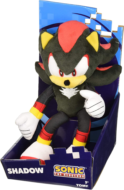 Sonic Modern, Shadow Plush Toy, Black/Yellow/Red