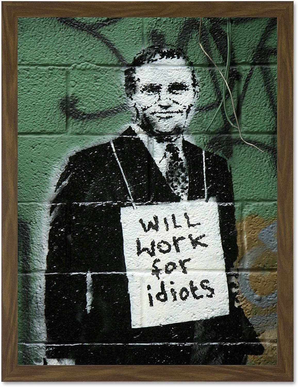 k Banksy graffiti imagen sobre lienzo Street Art son impresiones artísticas imagen de muro póster