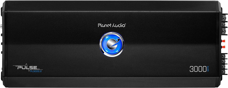 Class AB Planet Audio Pulse PL3000.2 Car Amplifier 2 Channel 3000 W PMPO