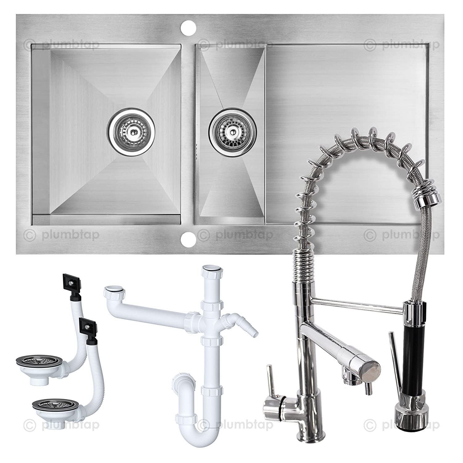 Professional Cooke & Lewis UNIK Kitchen Sink & Designer Pull Down ...