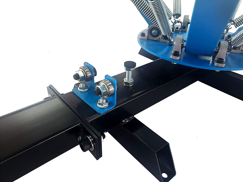 SPM Screen Printing Press 4 Color 1 Station Screen Printing Press Machine Screen Printing Press Kit T-Shirt Printing DIY