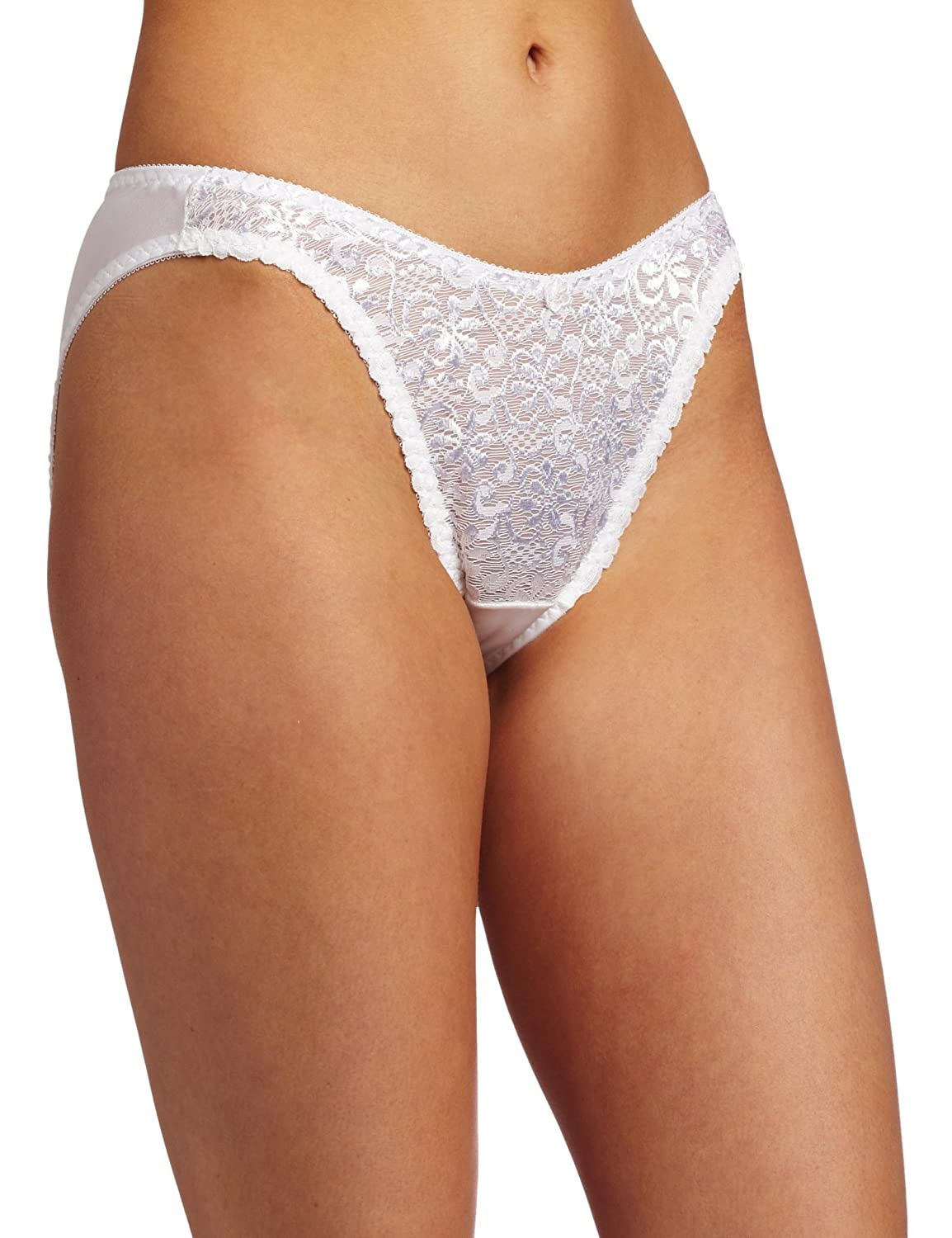 Carnival Womens French Cut Tuxedo Bikini Panty National Mill Industry Inc- Carnival 4137
