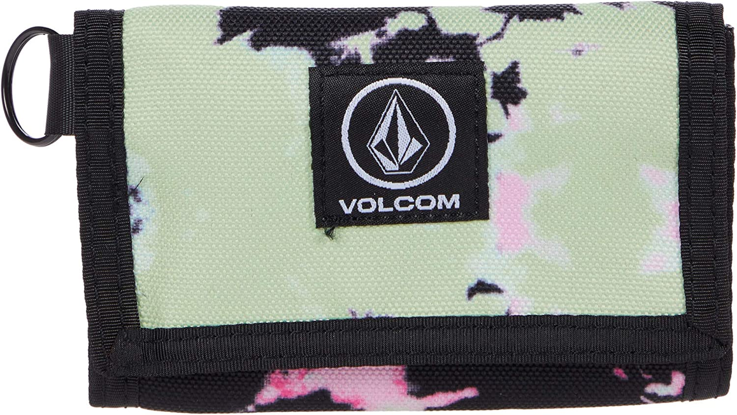 Volcom Men's Trifold Wallet, Multi, One Size: Clothing