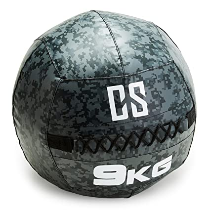 Capital Sports Restricamo Balón Medicinal PVC 9 Kg (Entrenamiento ...