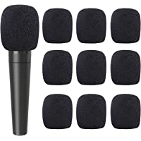 30 Pack Foam Microphone Cover Thick Handheld Stage Mic Windscreen. (Black)