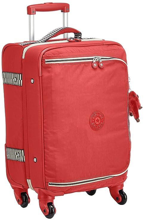 Kipling Cyrah S Equipaje de mano, 55 cm, 37.5 Litros, Rojo (Spicy Red Mix): Amazon.es: Equipaje