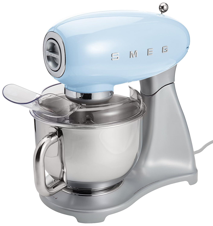 Smeg SMF01PBUS Stand Mixer, Pastel Blue