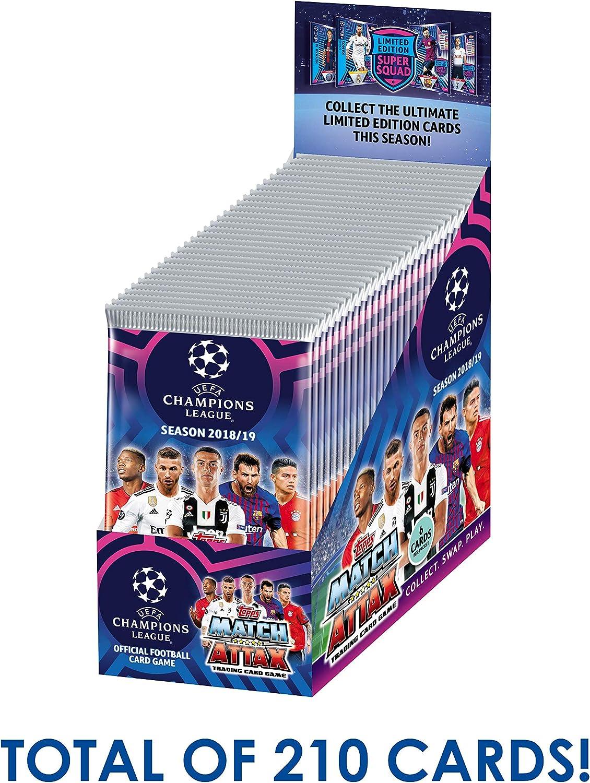 2018 2019 Topps UEFA Champions League Match Attax Starter Box Ronaldo Messi EPL