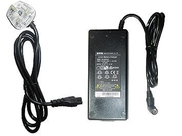sans Cargador Original para bateria de Bicicleta Electrica 42V 2A Enchufe RCA