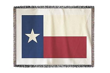 Bandera de Texas - Moldes (60 x 80 manta de chenilla, hilo): Amazon.es: Hogar