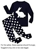 Amazon Price History for:Barara King Little Boys Rabbit Snug-Fit Pajamas 100% Cotton Black PJS