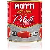 Mutti Pelati Schältomaten, 6er Pack (6 x 800 g)