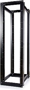 StarTech.com 45U Heavy Duty Open Frame Server Rack - 3300lbs Weight Capacity - 4 Post 35.9