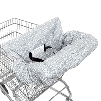 WATERPROOF 2 In 1 Baby Shopping Cart Cover U0026 High Chair Covers With Safety