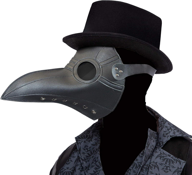 Crow Nose Animal Black Bird Fancy Dress Up Halloween Child Costume Accessory