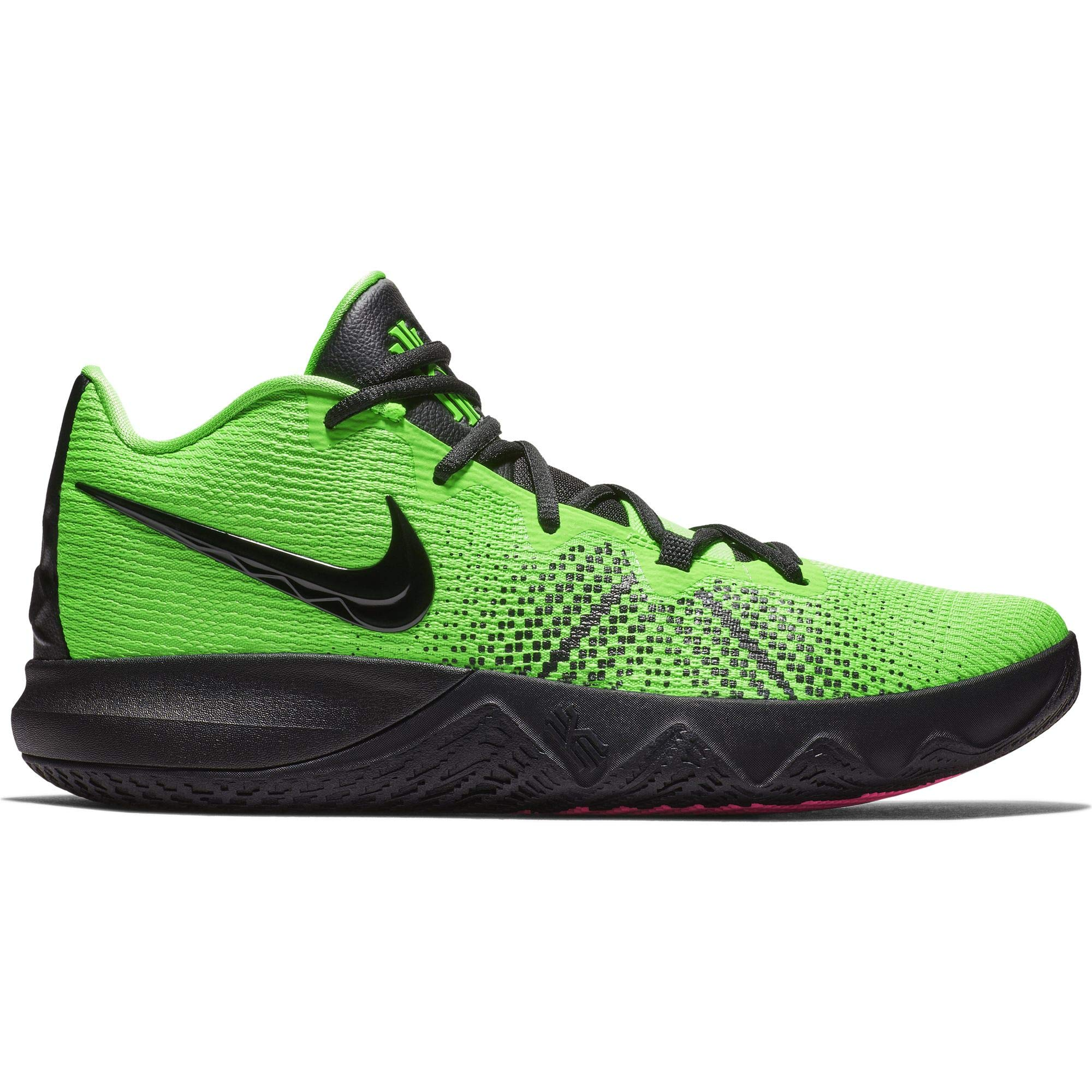Nike Mens Kyrie Flytrap Basketball High Top Sneakers (10 M US, Rage Green/Black/Hyper Pink)