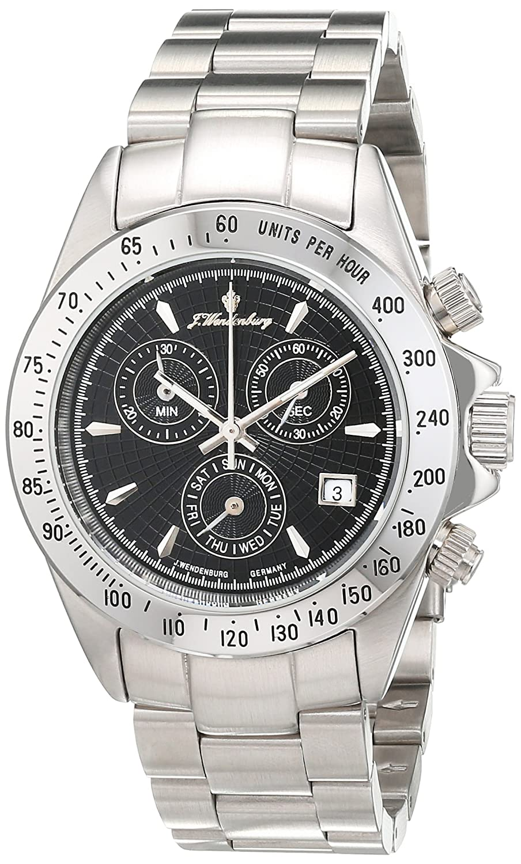J.Wendenburg Herren-Armbanduhr Analog Automatik Edelstahl JW-HQ22224-861S