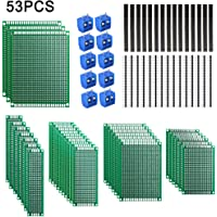 53pcs Set de Tableros de PCB, Dioxide 23x