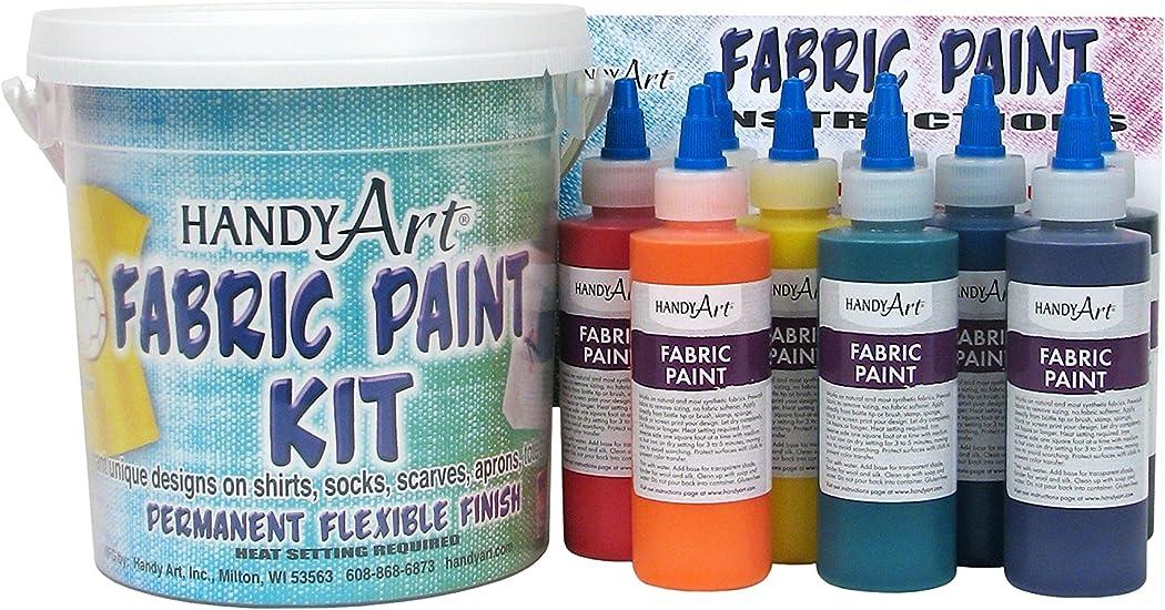 Handy Art by Rock Paint 4Oz Kit de Pintura para tela (Pack de 9 ...