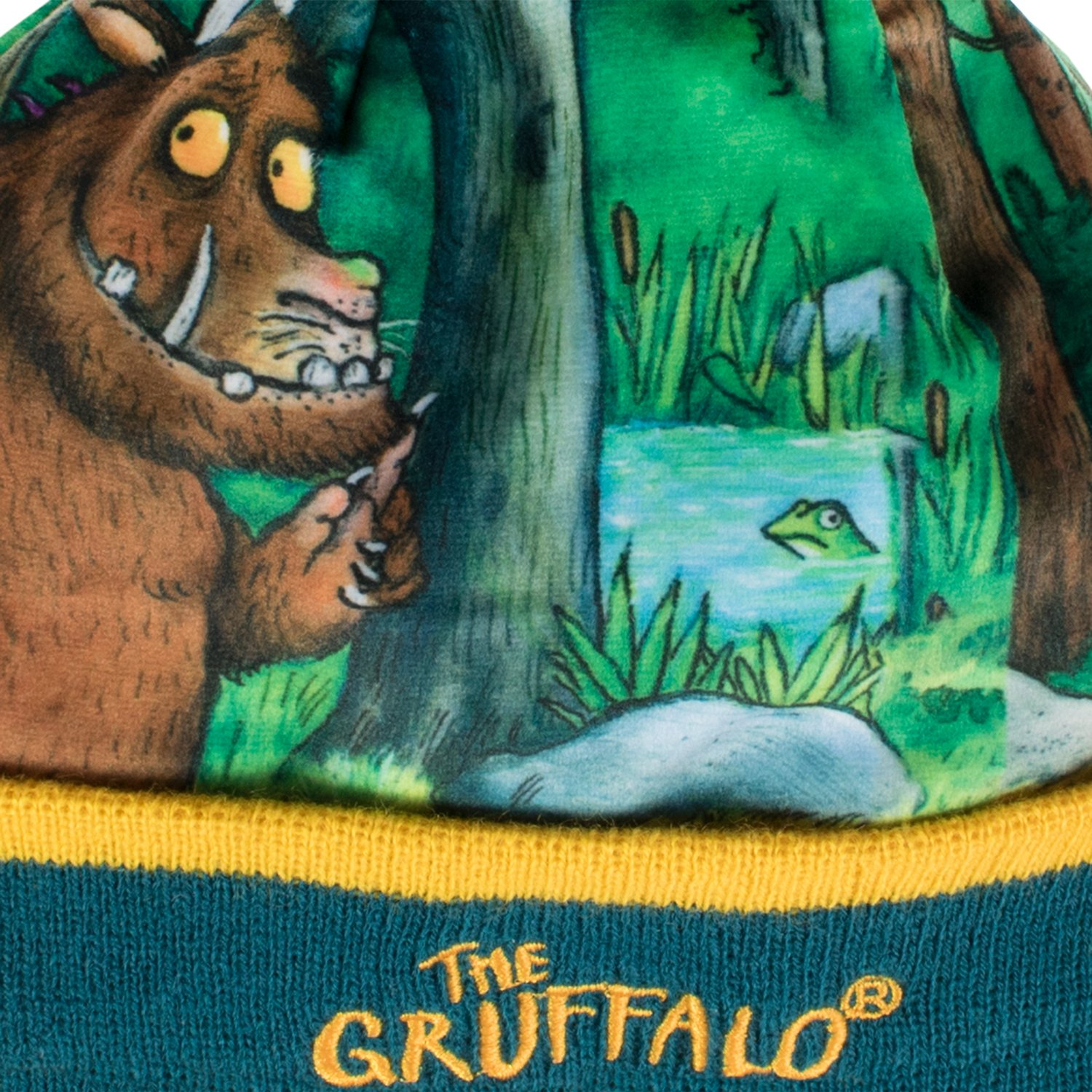 The Gruffalo Boys Gruffalo Hat and Gloves Set Size 2-4 Years