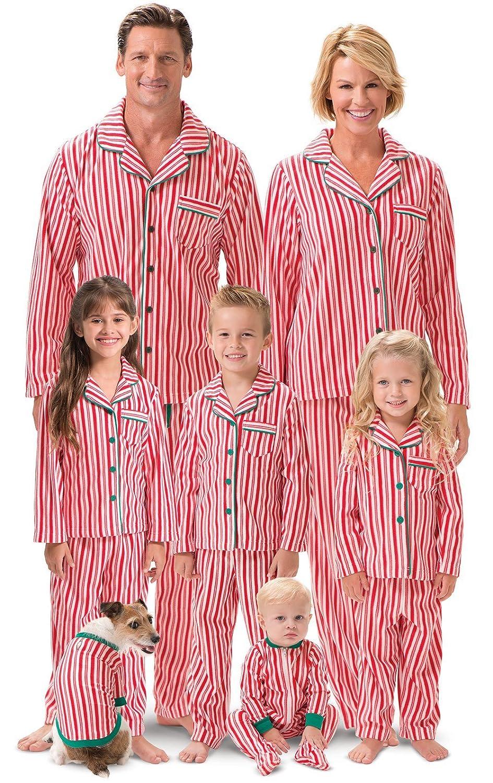 Amazon.com  PajamaGram Matching Family Christmas Pajamas - Matching  Christmas Pajamas a81acc43c