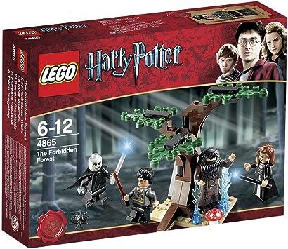 LEGO Harry Potter 4865 - El Bosque Prohibido: Amazon.es: Juguetes ...