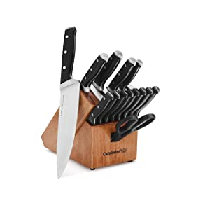 Calphalon Classic Self-Sharpening Cutlery Knife Block Set (1932932), 15-Pc