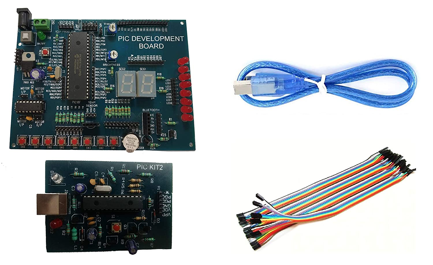 Amazon in: Buy Embeddinator's PIC16FXX Microcontroller Development