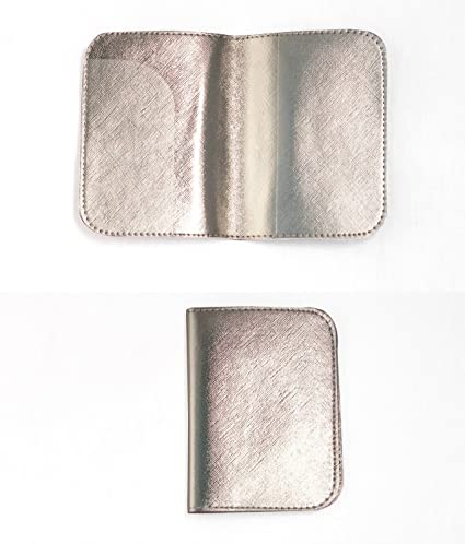 9c481ec74ba9 Passport Holder (Pack of 2) in Elegant Champagne Gold Texture Leatherette