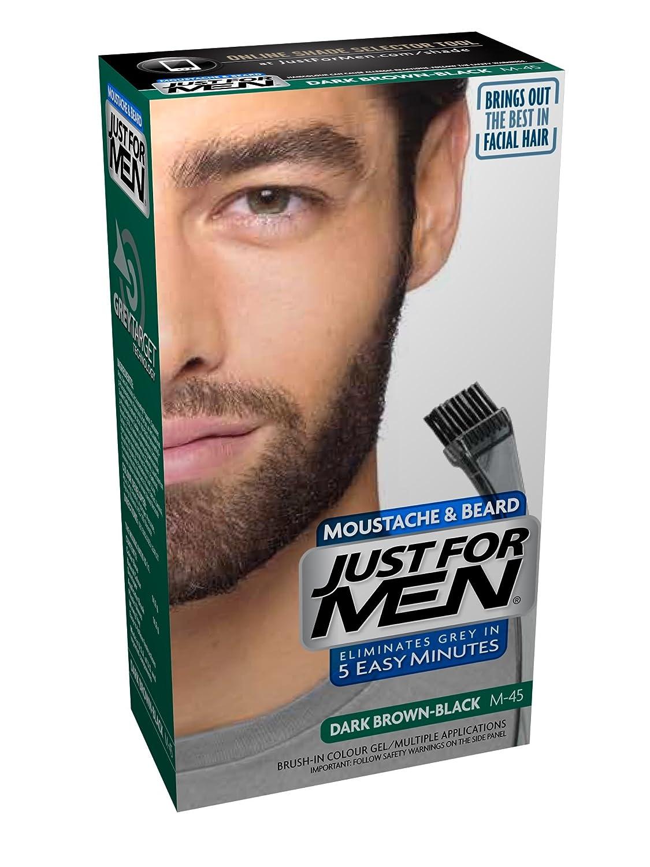 Amazon.com : Just For Men Mustache & Beard, Dark Brown (Pack of 3 ...