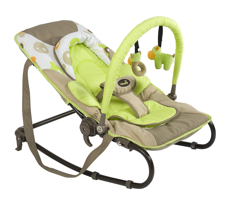 Babymoov A012401 Bubble - Mecedora con arco de juegos y cojín para recién nacido