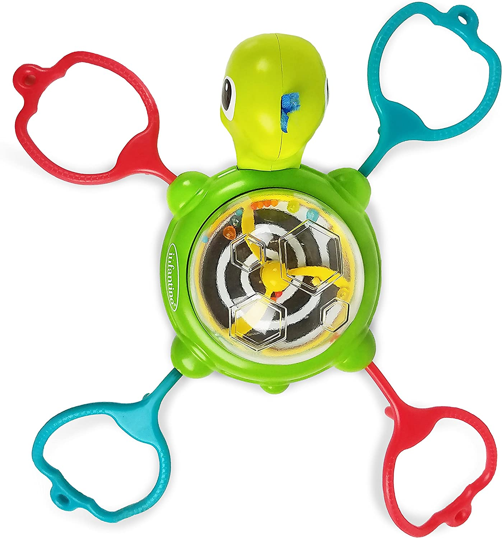 Infantino Link & Spin - Vaso con ventosa, diseño de tortuga ...