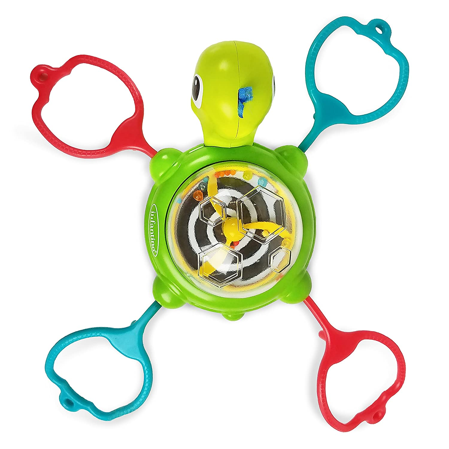 Infantino Link & Spin Suction Cup, Turtle