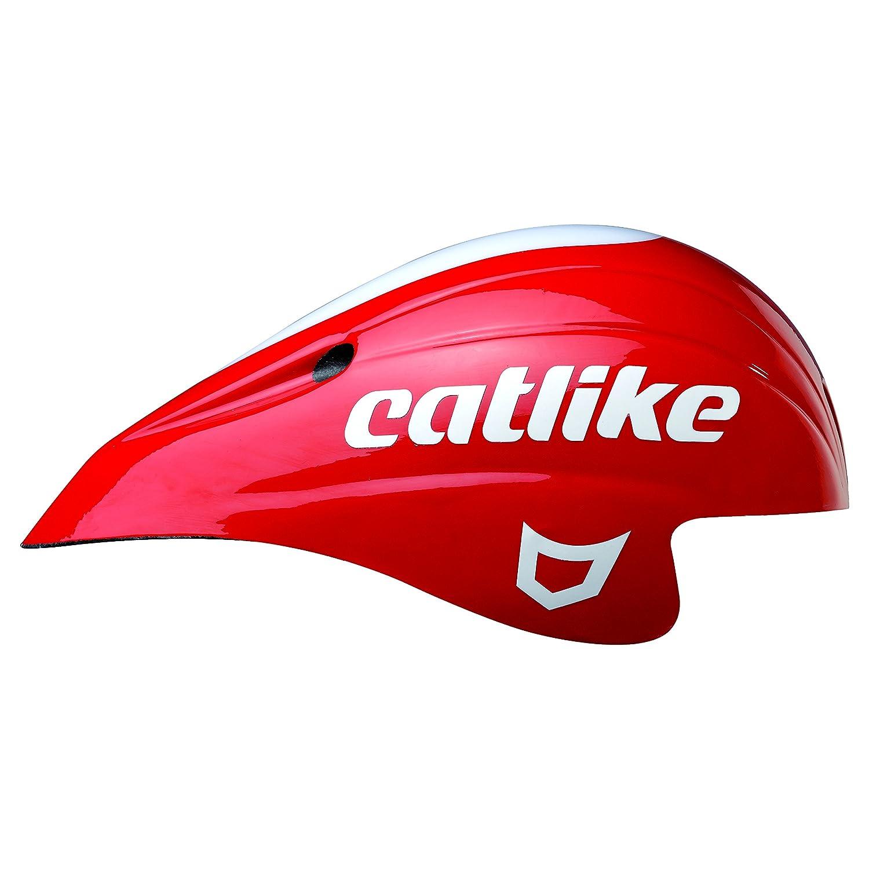 catlike(カットライク) CHRONO AERO PLUS 0120002R レッド/ホワイト MT 55-60cm   B00CDP9R0Y