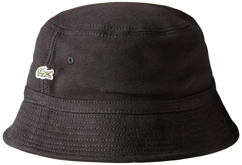 cdc48671300 Lacoste Men s Cotton Pique Bucket Hat at Amazon Men s Clothing store