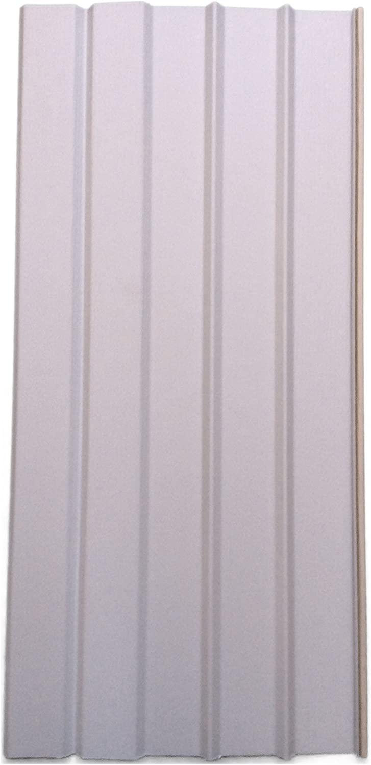 "Mobile Home Skirting Box of 8 Silver Grey Solid Panels 16"" Wide X 35"" Tall"