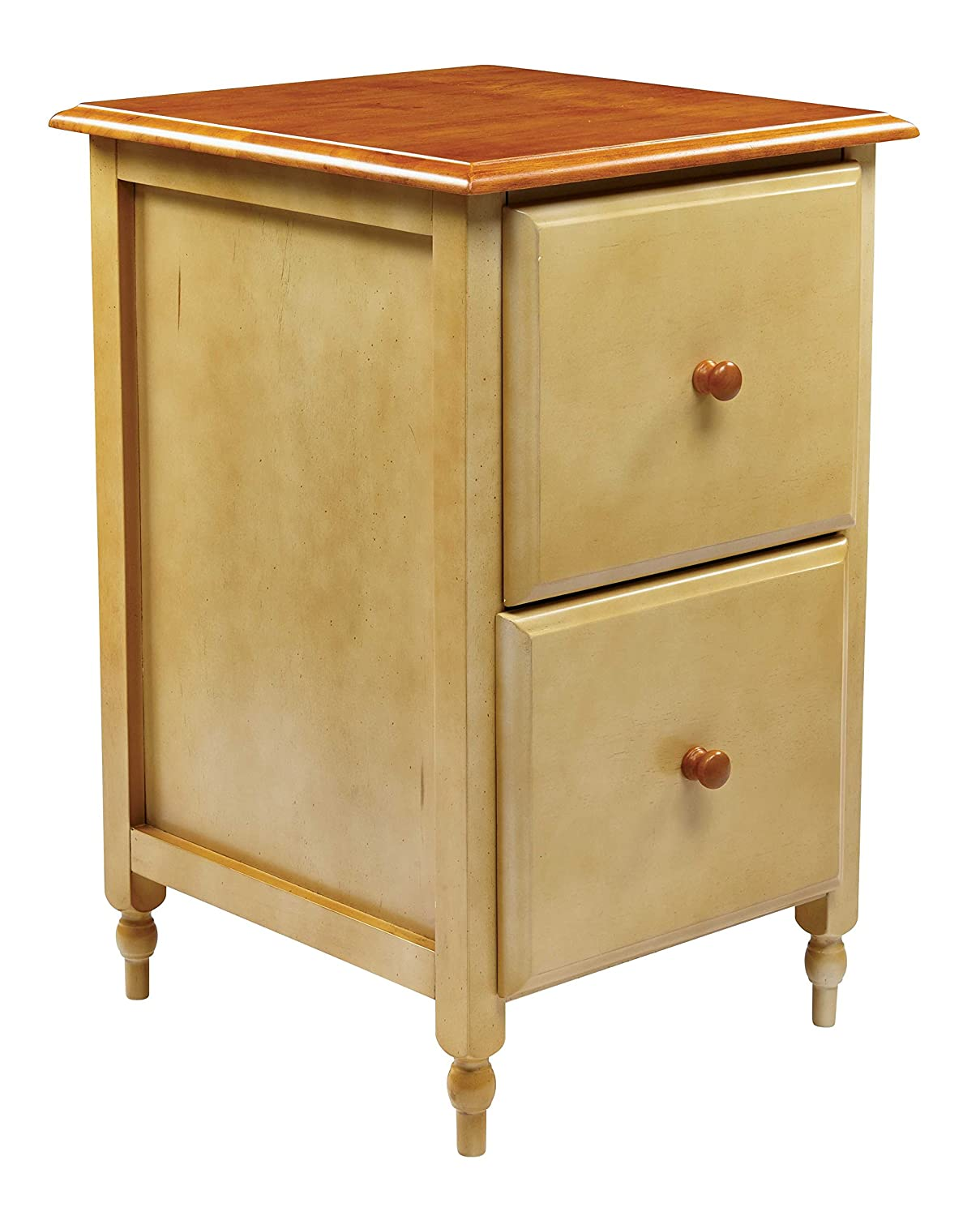 Amazon.com: OSP Designs Country Cottage File Cabinet: Kitchen & Dining