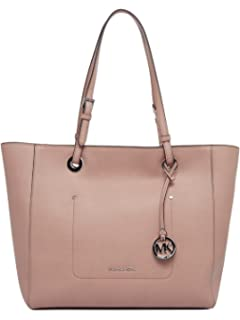 e74b27a5b96e Amazon.com: MICHAEL Michael Kors Womens Walsh Leather Shoulder East ...