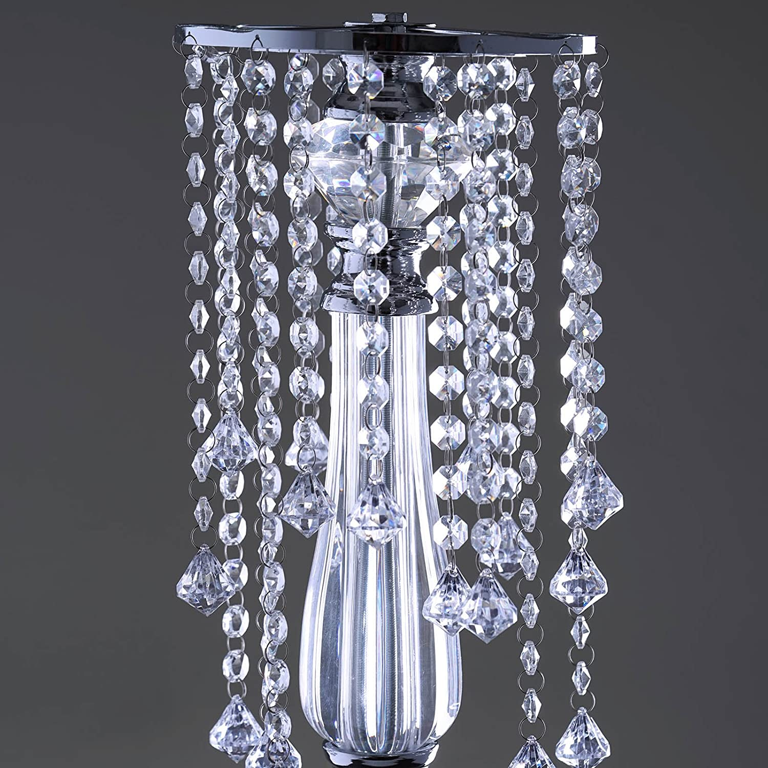 "Amazon Efavormart 28"" Tall Eye Catching Diamond Crystal"