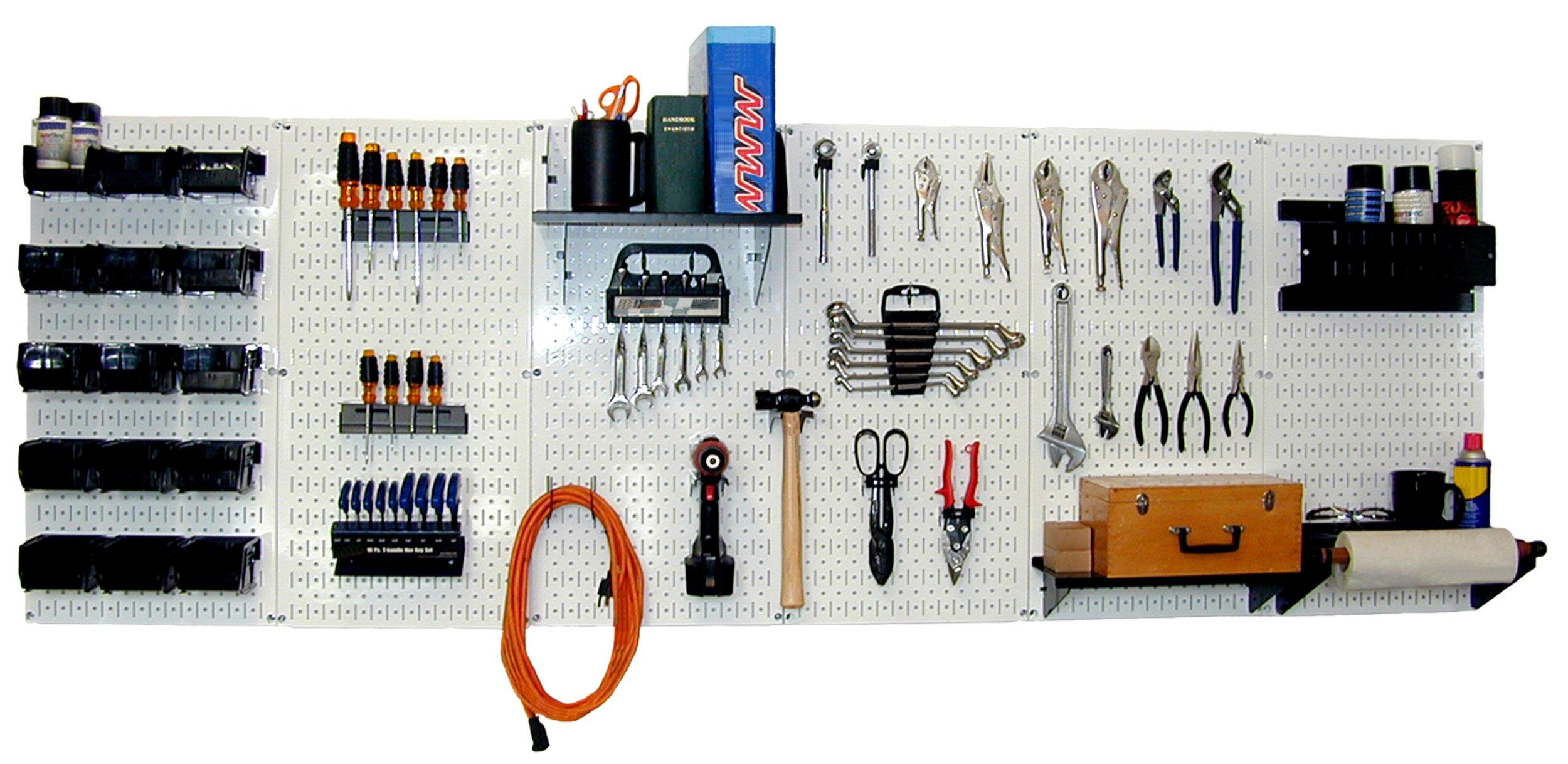 Wall Control 30-WRK-800WB Master Workbench Metal Pegboard Tool Organizer