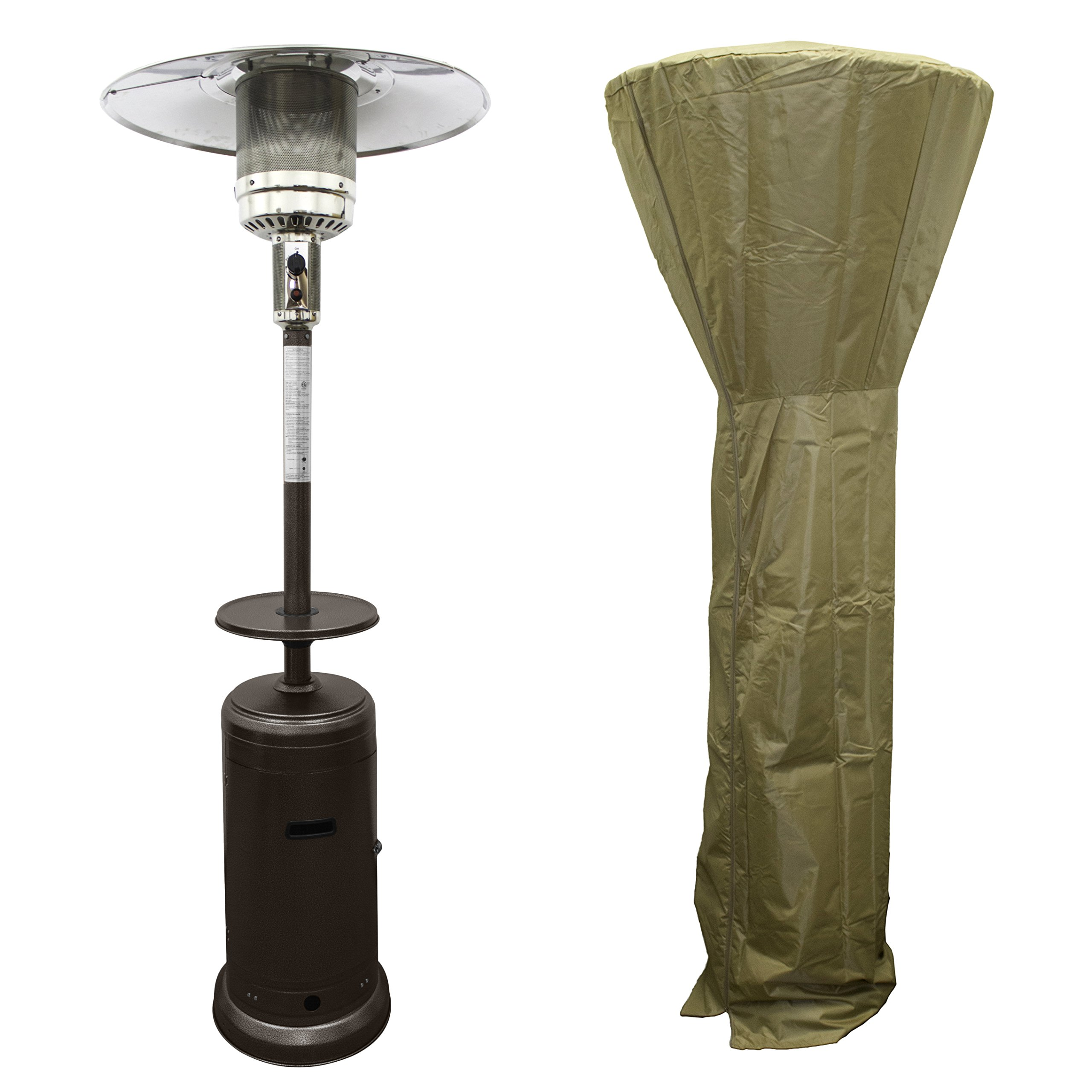 PrimeGlo HLDS01-CG-A HLDS01-Pct-a Propane Patio Heater With Full Length Cover