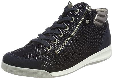 2bbd782eedf6b0 ARA Damen Rom Hohe Sneaker  Amazon.de  Schuhe   Handtaschen
