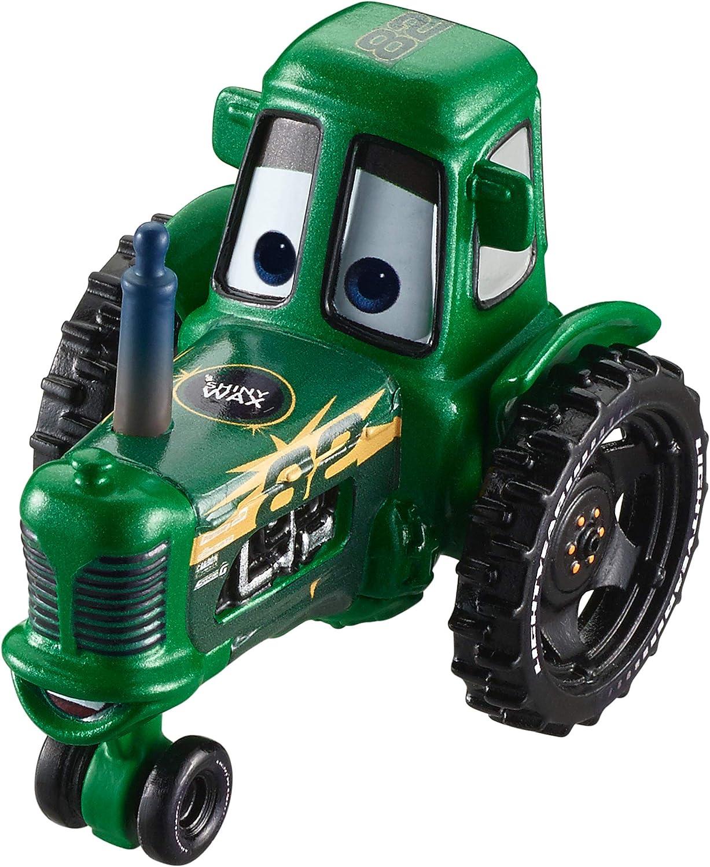 Amazon Com Disney Pixar Cars Shiny Wax Racing Tractor Toys Games
