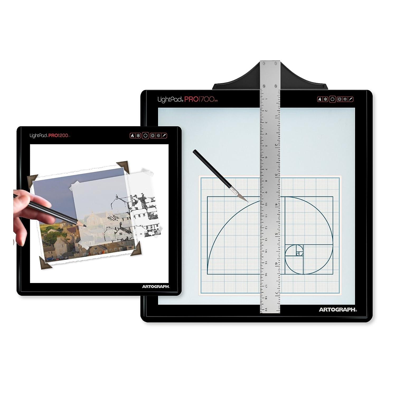 Lightpad Pro 1700 Led Light Box W/ 2 Padpucks-17.5