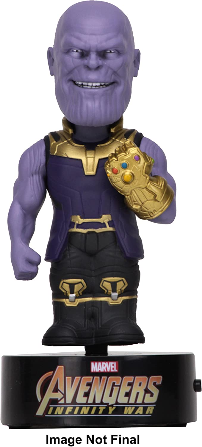 Official Avengers Infinity War Thanos Head Knocker Bobble-Head Neca